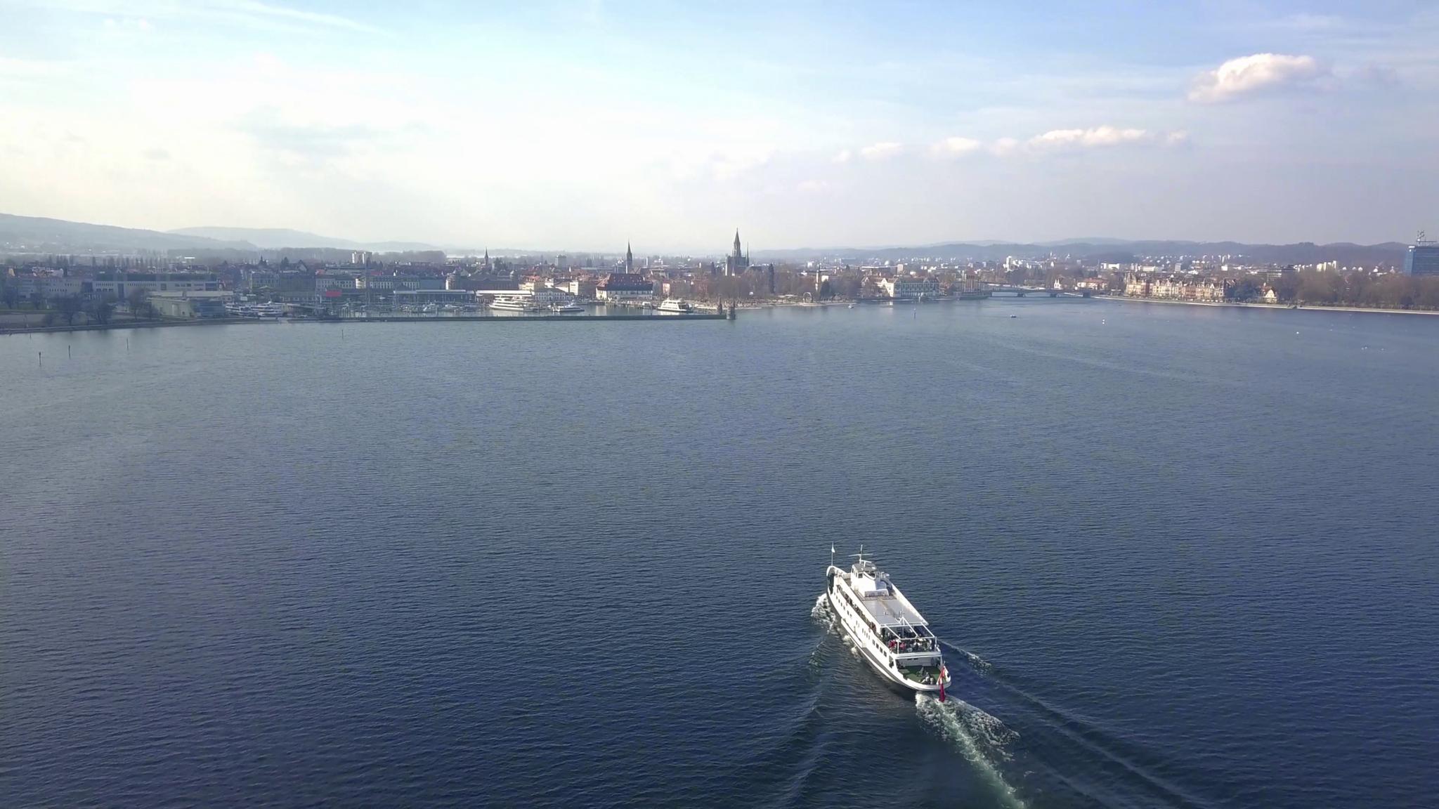Bodensee vor Kreuzlingen